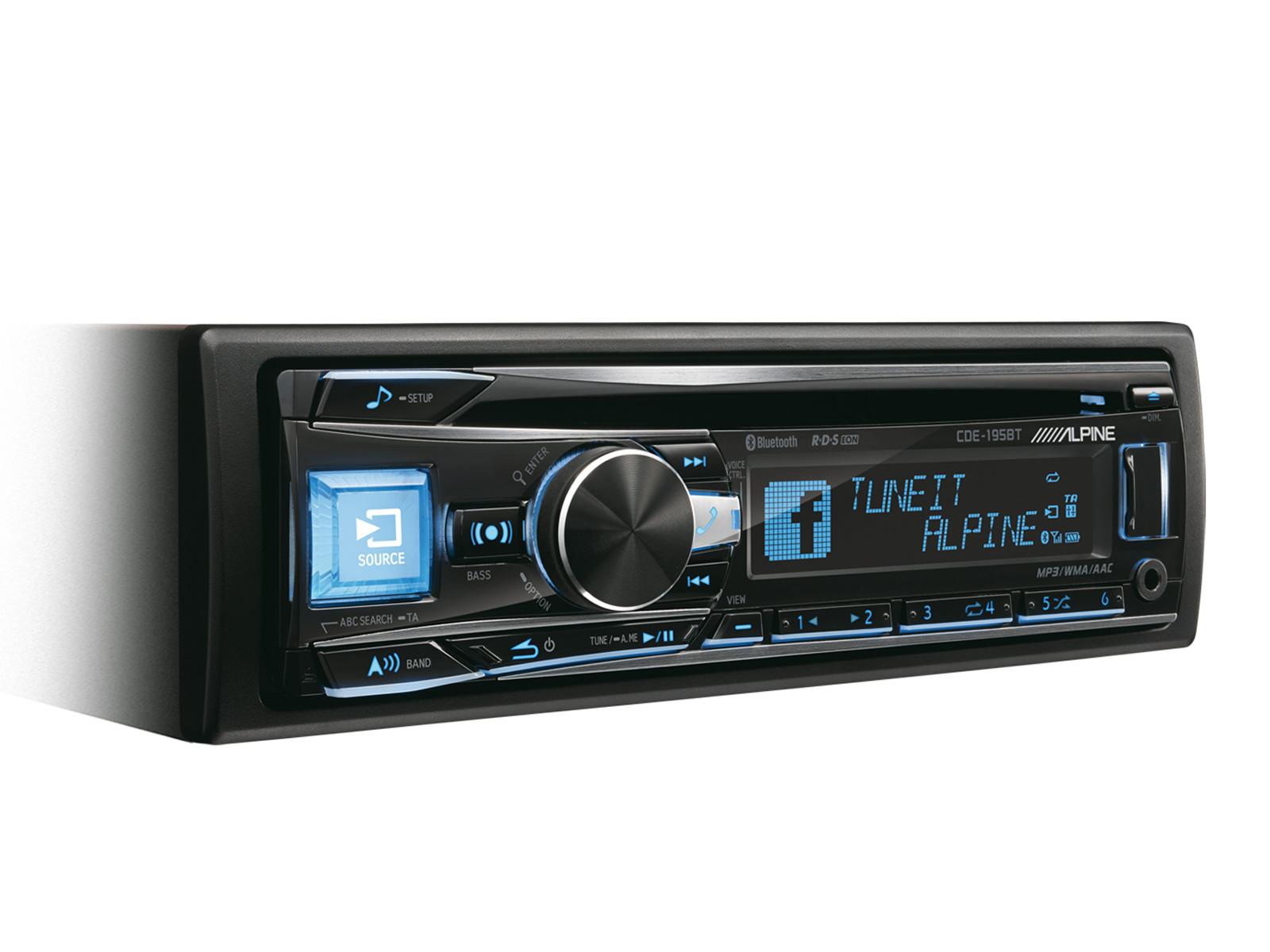 57ede6a2371 CD/USB vastuvõtja koos täiustatud Bluetoothiga CDE-195BT   AudioMarket