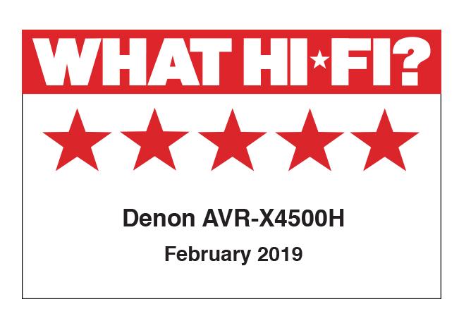What HiFi [UK] - AVRX4500H